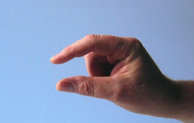 Penis Hand Size Representation