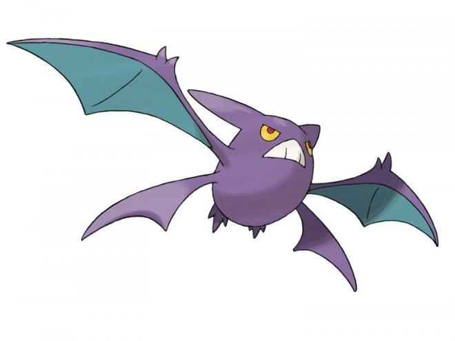 Golbat evolves into Crobat
