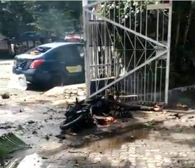 Indonesia Church Blast