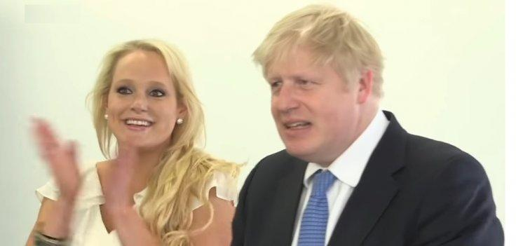 Boris Johnson with Jennifer Arcuri