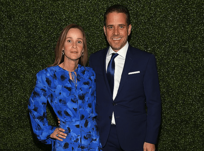 Hunter Biden and Kathleen Biden