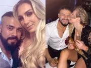 Andrade and Charlotte Flair.