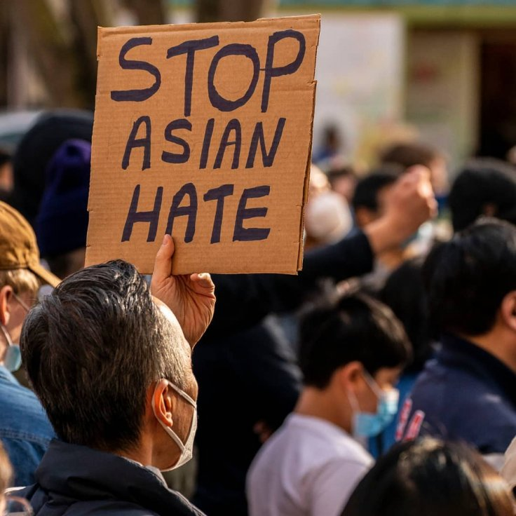 Stop Asian Hate Racism Racist Asian Americans