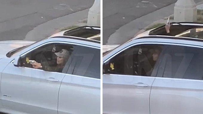 LA Woman driver