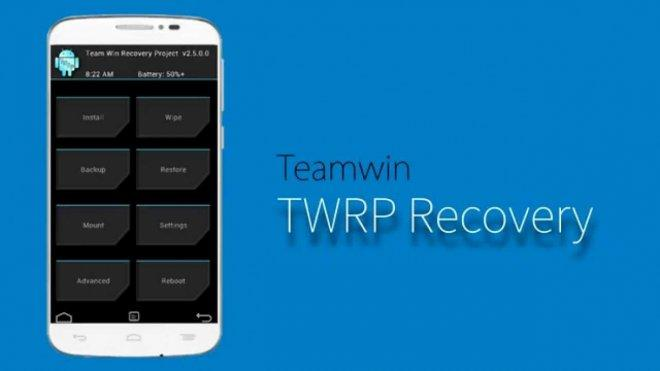 Team Win Recovery Project (TWRP)