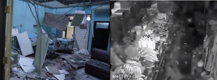Java earthquake