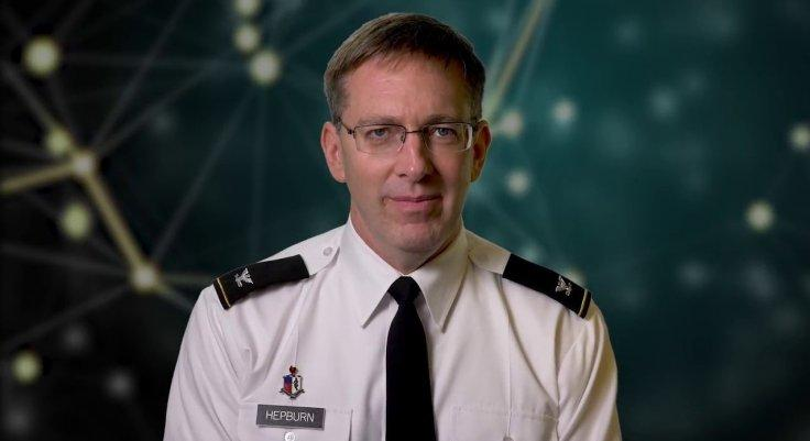 Colonel Matt Hepburn Covid-19 microchip on people