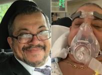 Francisco Cosme hospitalized Coronavirus despite fully vaccinated