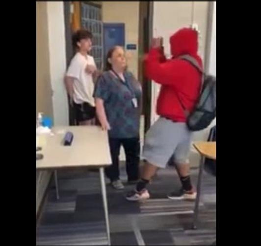 Teacher student altercation
