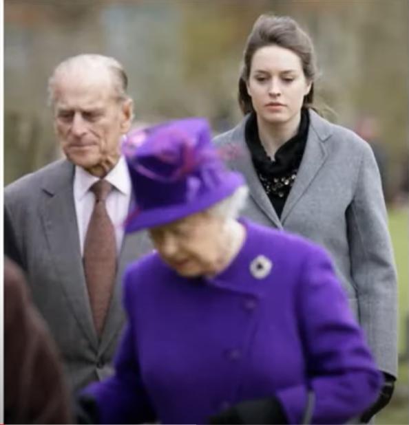 Prince Philip Penny Knatchbull Queen Elizabeth