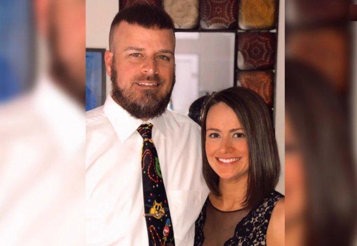 Brad Malagarie with wife Cori