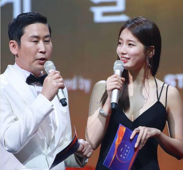 Shin Dong Yup and Bae Suzy