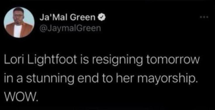 Ja'Mal Green's tweet