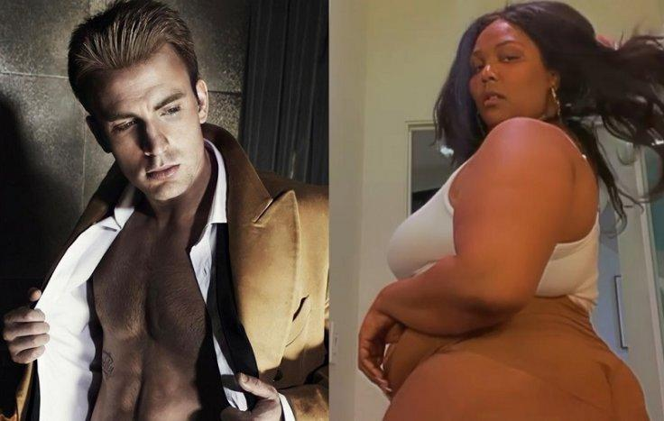 Chris Evans Flirts With Lizzo