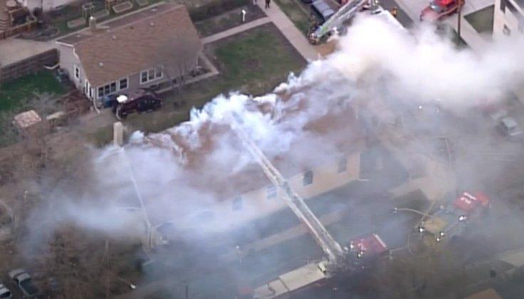 Minneapolis church fire