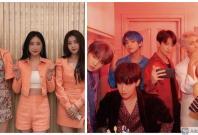 Brave Girls and BTS