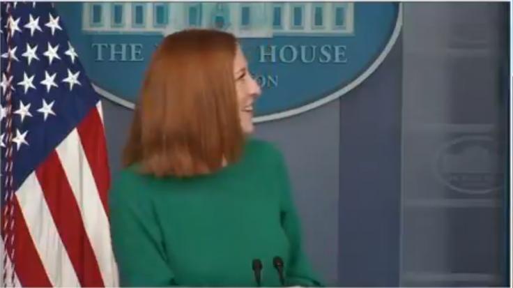 Jen Psaki hears spooky noises White House