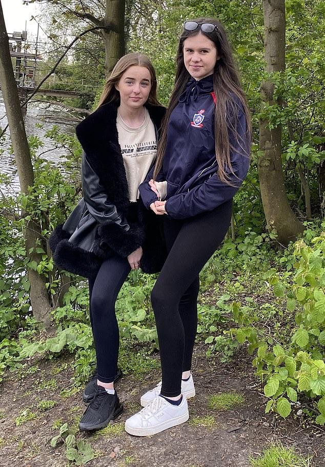 Khloe Woods, Ellie Hughes save drowning man