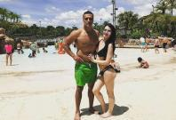 Paige and Ex-boyfriend Alberto Del Dio