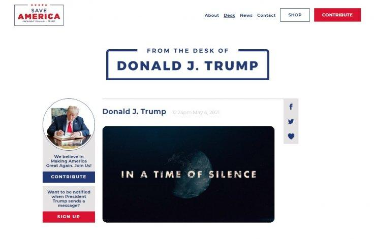 Trump New Website