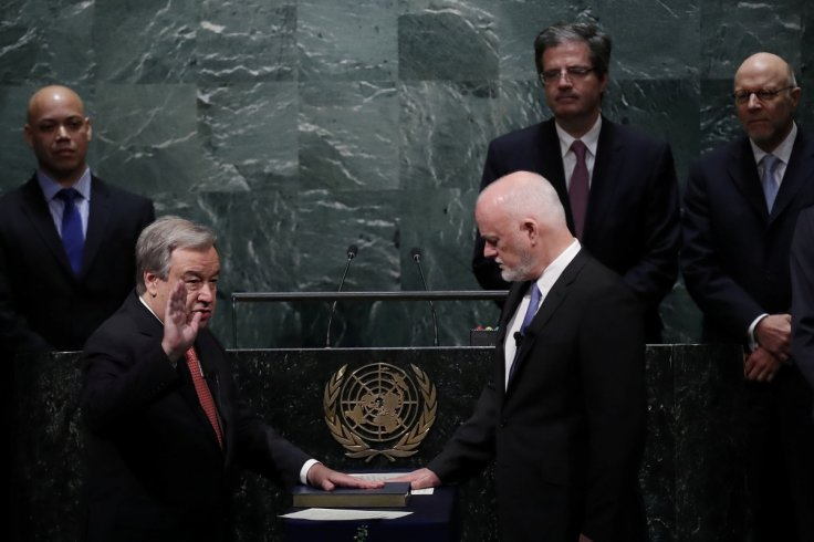 Antonio Guterres calls for changes at UN as he takes office
