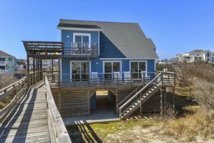 Bill Gates's North Carolina Beach House