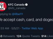 KFC Canada tweet