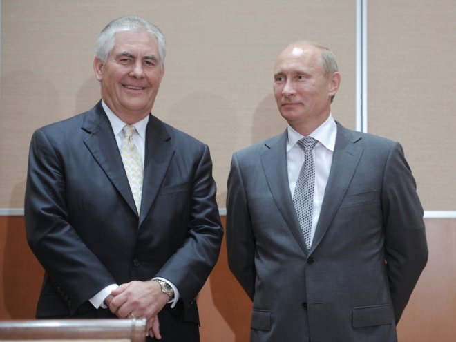 Trump names oilman and Russophile Rex Tillerson as next secretary of state