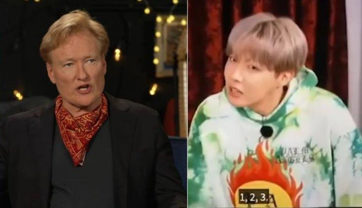 Conan O'Brien BTS J-Hope