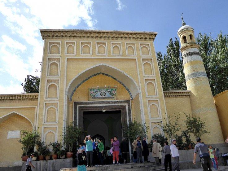 Id Kah Mosque Kashgar Xinjiang China