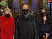 Elon Musk Miley Cyrus SNL Show