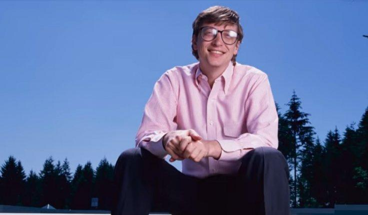 Bill gates young