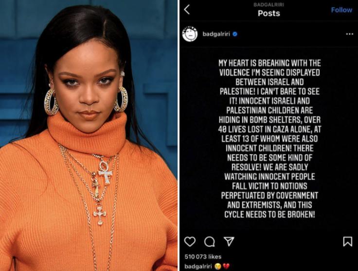 Rihanna's post