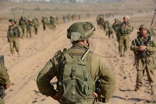 IDF ground attack in Gaza