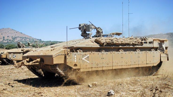 IDF Tanks in Gaza