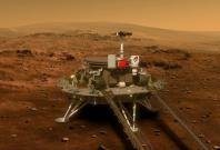 China's Zhurong Rover lands mon Mars