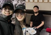 Han Ye-seul with her Boyfriend