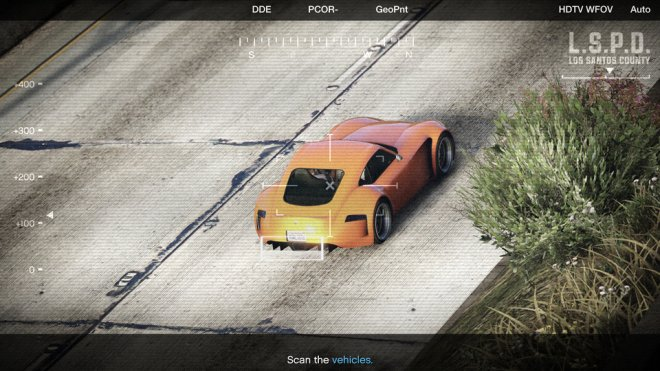 GTA Online: Scan for special vehicles