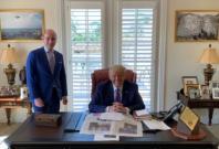Trump Mar-A-Lago office