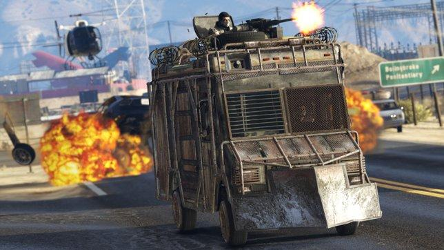 GTA Online Import/Export DLC - Armoured Trucks