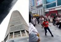 China Skyscraper Wobbles