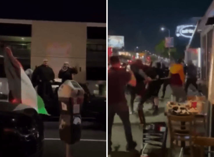 Jews attacked in Los Angeles