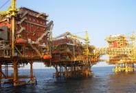 ONGC oil platform