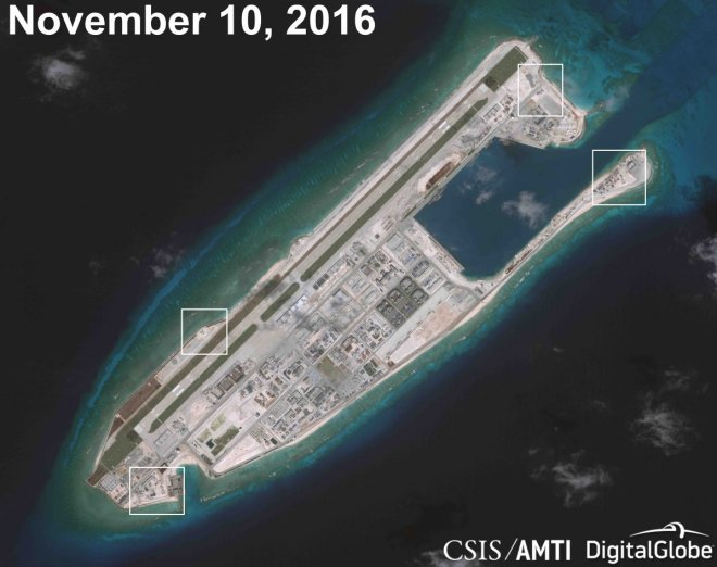Beijing swiftly ramping up advanced military tech in reefs around Spratlys in South China Sea