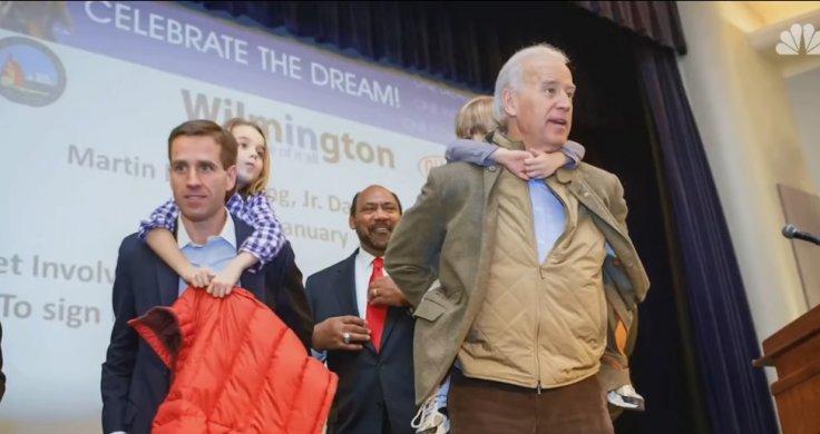 Hunter Biden with Joe Biden