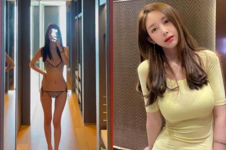Yaongyi in Bikini