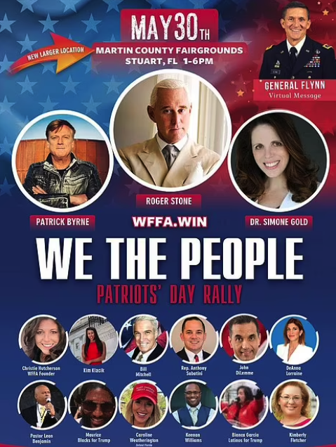 We The People: Patriot's Day rally
