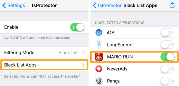 Super Mario Run patch for iOS