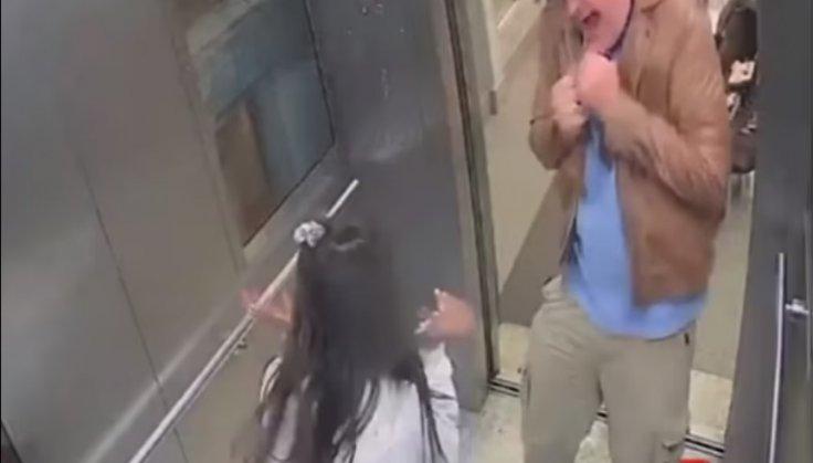 Police Groping Girl