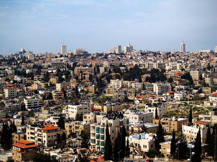 View of Sheikh Jarrah